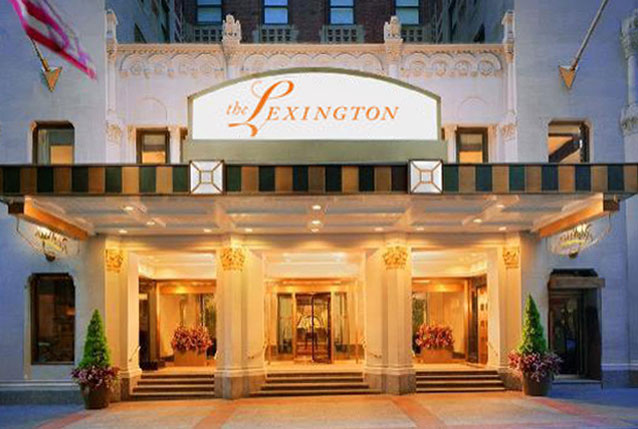 Located Inside The Lexington Hotel
